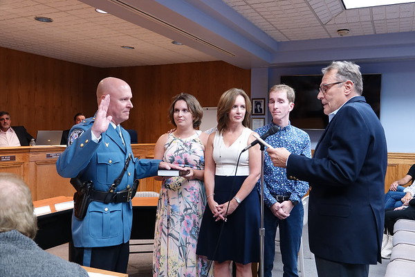 Northvale Police Dept.- Swearing In 8-27-19