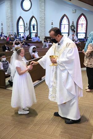 Apr 24, 2021 10 AM Communion