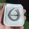 1.60ctw Horseshoe Conversion Ring 17