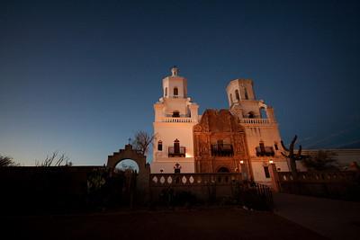 San Javier Mission - February 2009