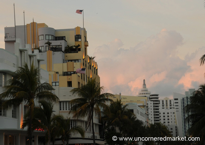South Beach Skyline - Miami, Florida