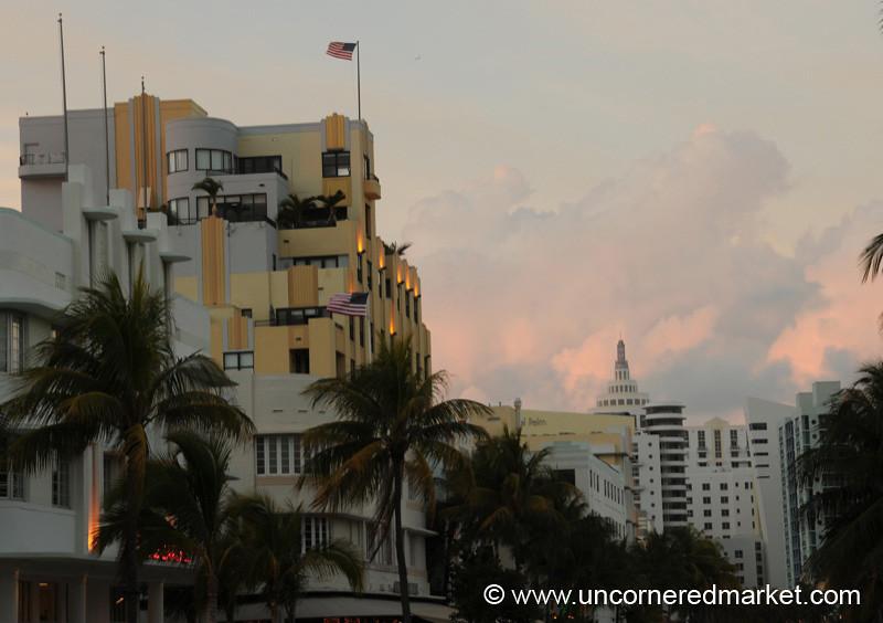 South Beach Skyline - Miami, Florida