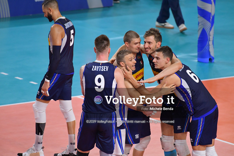 ITALIA vs SERBIA, 2019 FIVB Intercontinental Olympic Qualification Tournament - Men's Pool C IT, 11 agosto 2019. Foto: Michele Benda per VolleyFoto.it [riferimento file: 2019-08-11/ND5_7102]