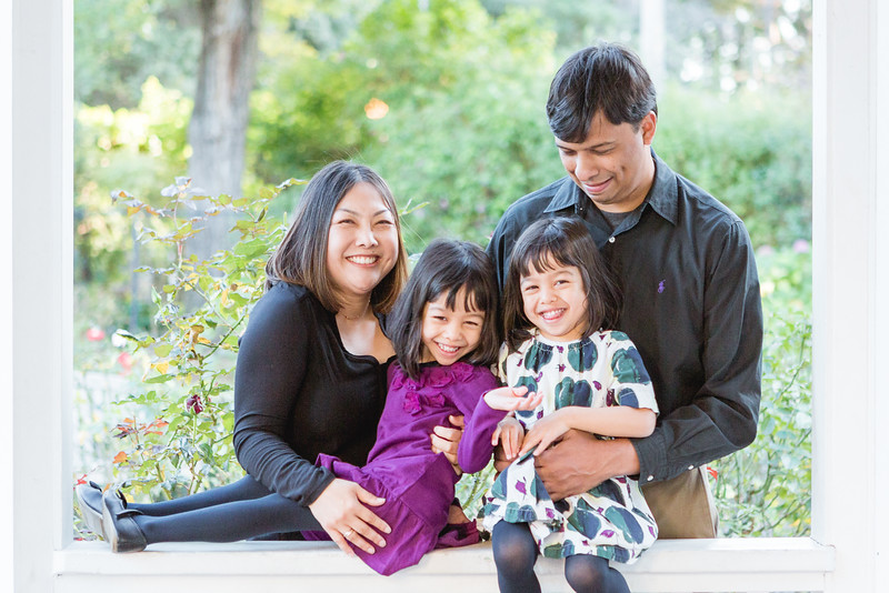 The Sinha Family | Japanese Garden