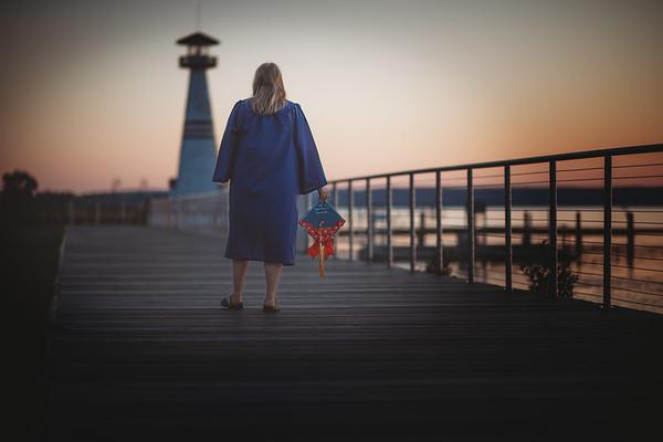 Kenzie Cap & Gown