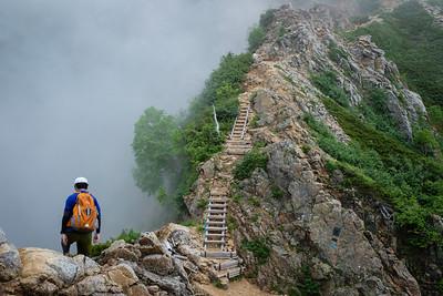 Mt. Yarigatake Trek