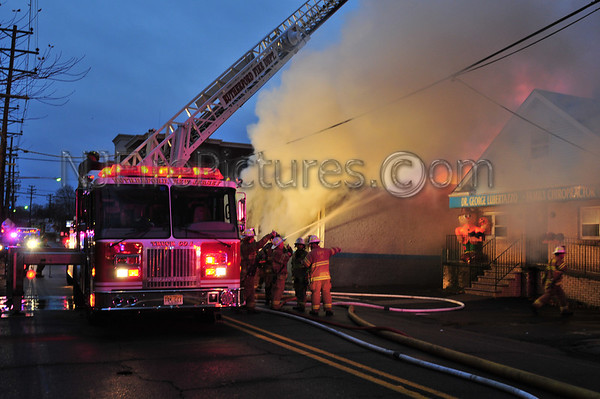 Rutherford, NJ 5th Alarm 158 East Passaic Ave. 11/24/2009