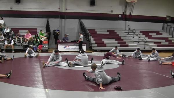 2012 MRHS Video of JV Wrestling vs Long Branch