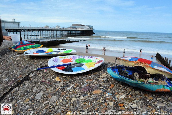 Record Breakers and Paint a Crab Shell