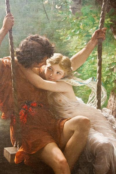 Springtime; Pierre-Auguste Cot; 1873