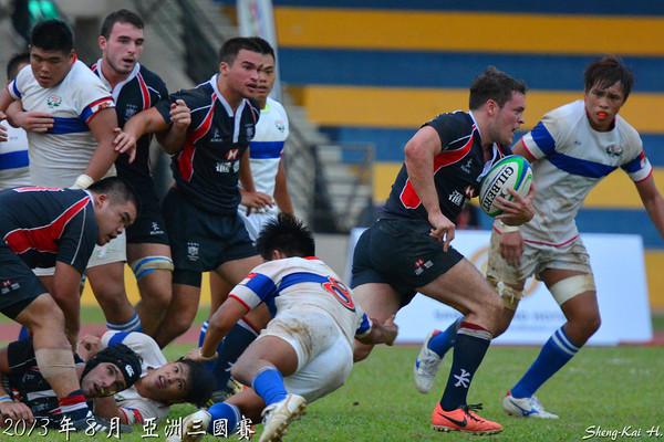2013亞洲三國賽-台灣 VS 香港A(TWN vs HKG A)