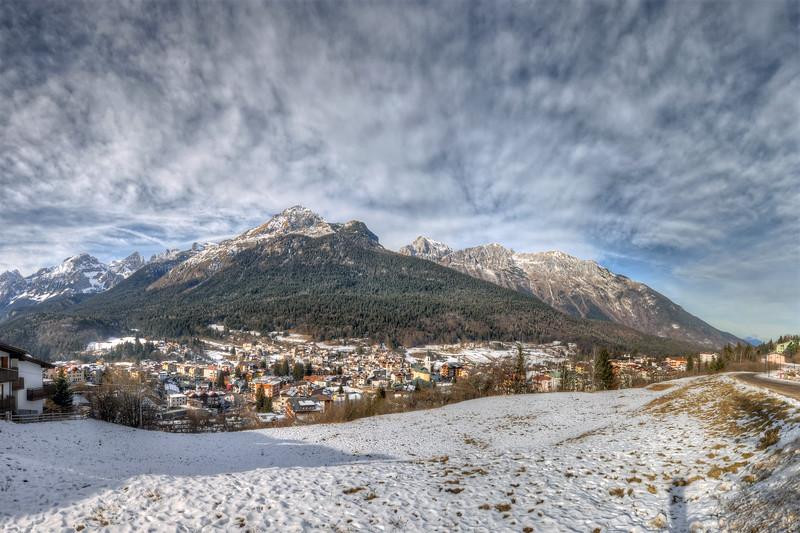 Piz Galin - Andalo, Trento Italy - January 1, 2012