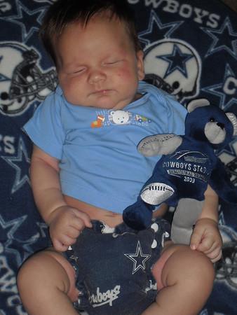 Micah the Dallas Cowboys Fan