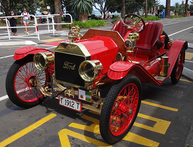 Art Deco Festival, Napier, in February