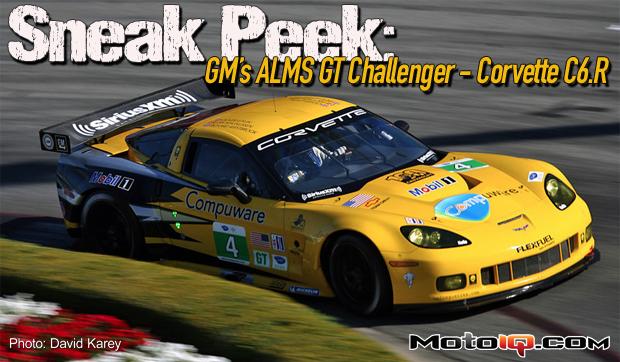 Sneak Peak: GM's ALMS GT Challenger, The Corvette C6.R