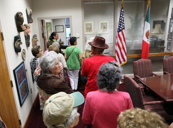 Senior Citizens Tour City Hall