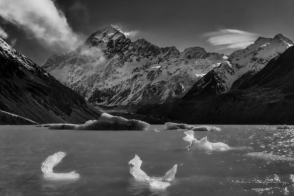 mountains lakes