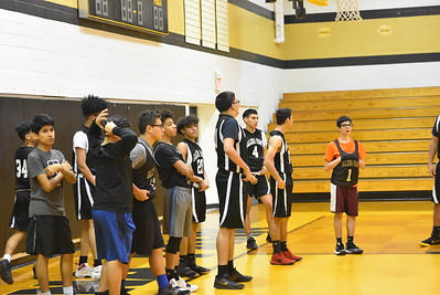 2019 Boys Basketball Practice