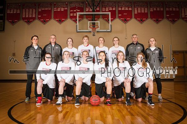 GHS Girls Basketball 2016-17