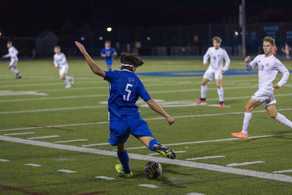 Varsity Boys Soccer vs Desales