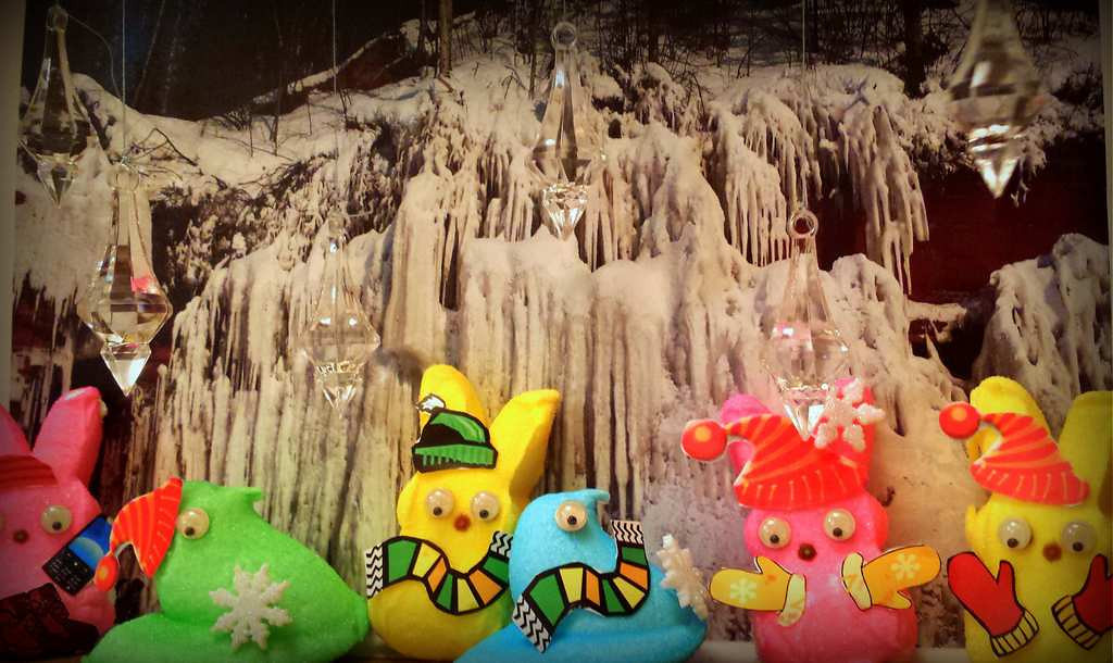 """. \""""Peeps at the Ice Cave,\"""" by Richard Chin"""
