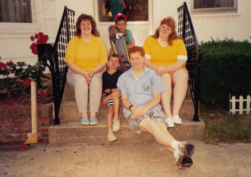 Samantha Sullivan, Zachary  Andrew Hiller, Stephen & Joyce Sullivan - circa summer 1990.jpg
