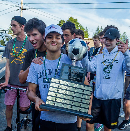 Set two: VIHS Boys Soccer Vultures LAX State Champs Parade 05/30/2019