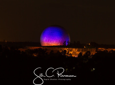 Epcot Illuminations from our balcony