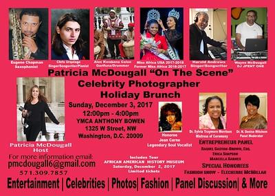 "PATRICIA MCDOUGALL ""ON THE SCENE"" HOLIDAY BRUNCH , WASHINGTON, DC"