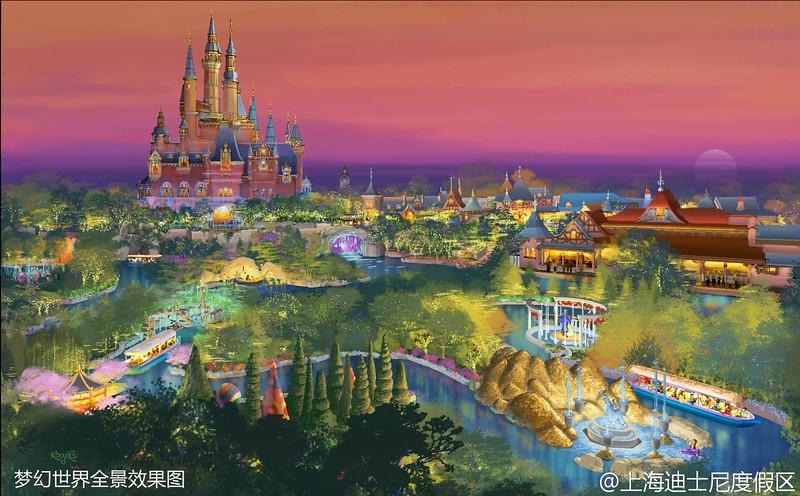 Burton's Alice, new Pan, Castle boat ride to debut at Shanghai Disneyland's Fantasyland