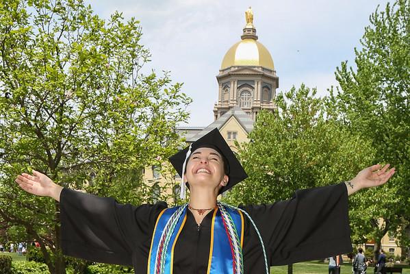 Olivia's Notre Dame Graduation 2019