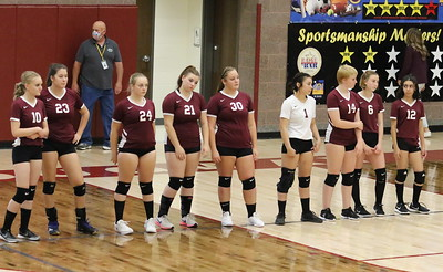 Mustang Volleyball. Oct. 1, 2020