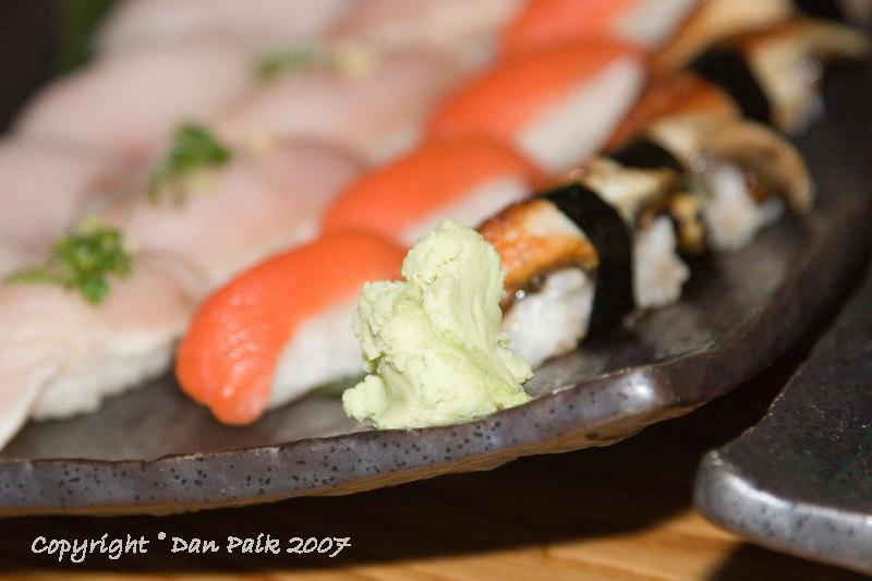 wasabi.