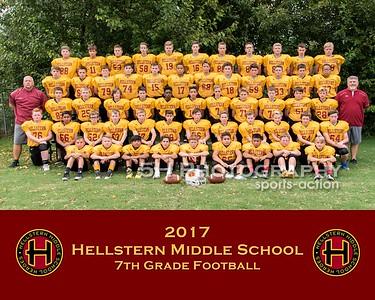 Hellstern Football- 7th Grade