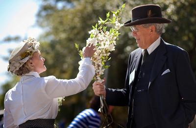 The annual Saratoga Blossom Festival
