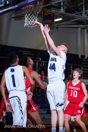 Broughton boys JV basketball vs Sanderson. February 11, 2019. 750_5616