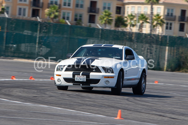 Custom Gallery - 2008 White Ford Mustang GT500