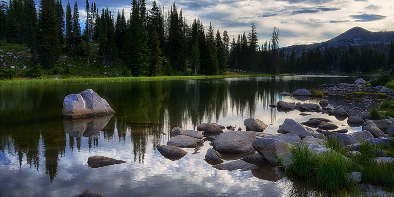 Upper Long Lake, Snowy Range of Wyoming