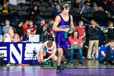 133 - Gross def Rivera - Semifinals - 2019 Midlands