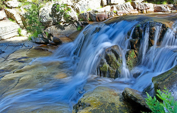 Les cascades d'Aitone