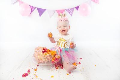 Poppy cake smash