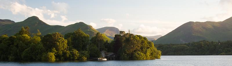 Derwent Isle in Derwent Water