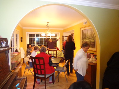 January Bunco at Thora's