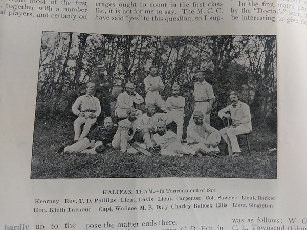 Halifax Cup 1874