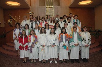 Mount Zion Temple Confirmation 2006