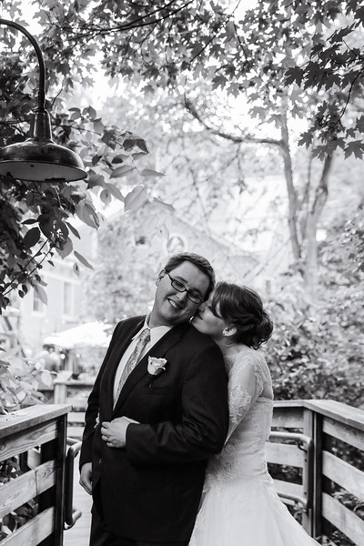Katrina & Brad's Intimate Alvah Stone Wedding