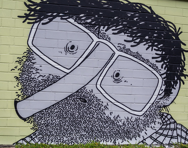 Graffity in Cologne Zoo