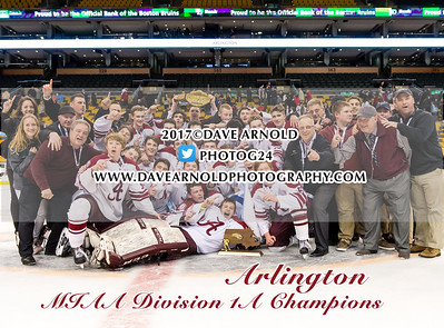 3/19/2017 - Boys Varsity Hockey - MIAA D1A Final - Central Catholic vs Arlington