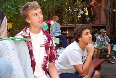 Labor Day Retreat 2003