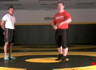 Defending the High Crotch  with cross face  and bump